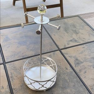 Silver Jewelry Holder